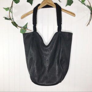 Dolce Vita Large Black Tote Bag